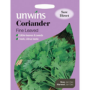 Unwins Fine Leaved Coriander Herb Seeds