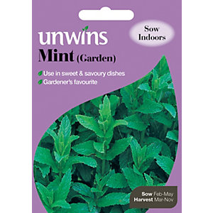 Unwins Garden Mint Seeds