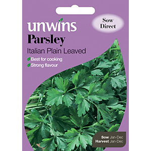 Unwins Italian Plain Leaved Parsley Seeds