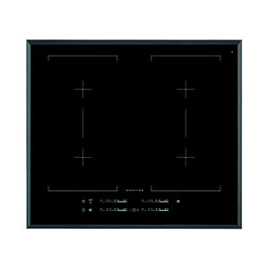 AEG 60cm 4 Zone Maxisense Flexi Induction Hob Black IKE64450FB