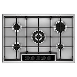 AEG 75cm Gas Hob with Wok Burner HG755450SY