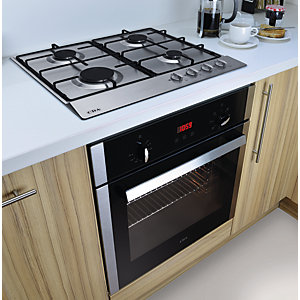 CDA Electric Fan Oven & Gas Hob Pack