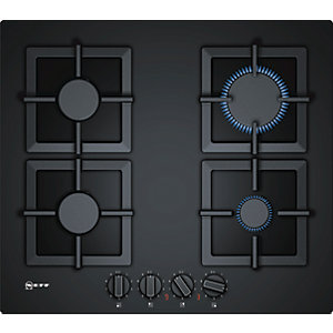 NEFF 60cm 4 Burner Gas Hob T26CA42S0 Black