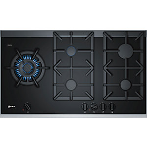 NEFF 92cm 5 Burner Gas Hob Black T29TA79N0