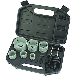 Wickes Electricians 6 Piece Hole Saw Set