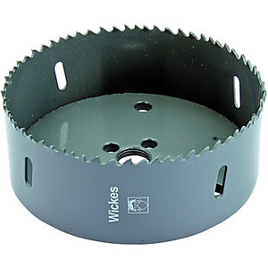 Wickes HSS Bi-metal Hole Saw - 114mm
