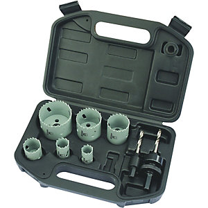 Wickes Plumbers 6 Piece Hole Saw Set