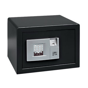 Burg-Wachter Pointsafe Electronic Home Safe with Fingerscan - 20.5L Black