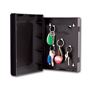 Master Lock 5451EURD - 5 Hook Customisable Wall Mounted Key Safe Box