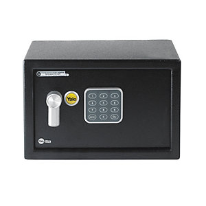 Yale YSV/200/DB1 Electronic Value Compact Safe - 8.6L Black