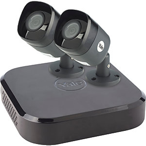 Yale SV-4C-2AB4MX Smart Home Wired CCTV Kit X 2 Camera