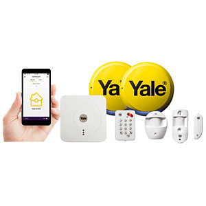 Yale Smart Living Home Security Alarm & View Kit