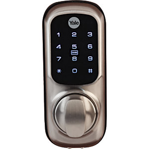 Yale YD-01-CON-NOMOD-SN Smart Living Keyless Connected Ready Smart Door Lock, Satin Nickel