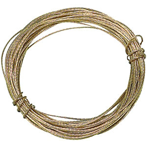 Wickes Picture Wire - Brass 6m