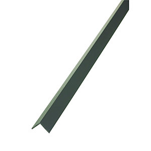 Wickes Angle - Black PVCu 15 x 15mm x 1m