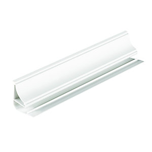 Wickes PVCu Coving - White 40mm x 40mm x 2.5m