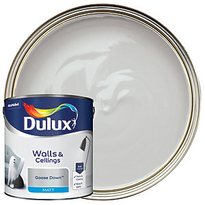Dulux Matt Emulsion Paint - Goose Down 2.5L