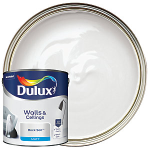 Dulux Matt Emulsion Paint - Rock Salt 2.5L