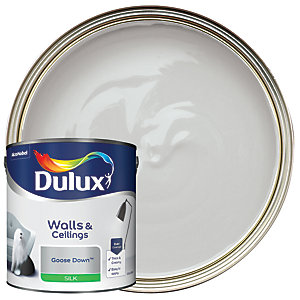 Dulux Silk Emulsion Paint - Goose Down 2.5L