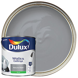 Dulux Silk Emulsion Paint - Natural Slate 2.5L