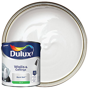 Dulux Silk Emulsion Paint - Rock Salt 2.5L