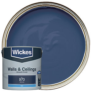 Wickes Admiral - No. 970 Vinyl Matt Emulsion Paint - 2.5L
