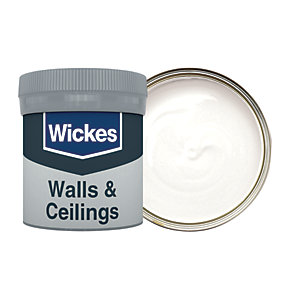Wickes Almost White - No. 100 Vinyl Matt Emulsion Paint Tester Pot - 50ml