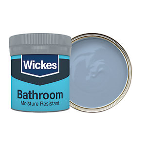 Wickes Bathroom Soft Sheen Emulsion Paint Tester Pot - No. 945 Tidal Wave 50ml