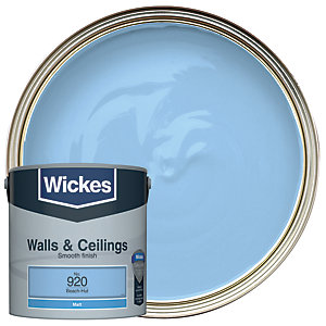 Wickes Beach-Hut - No. 920 Vinyl Matt Emulsion Paint - 2.5L