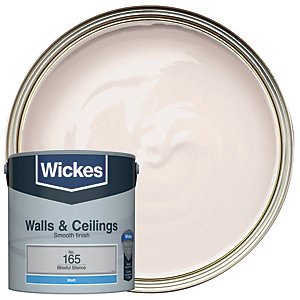Wickes Blissful Silence - No. 165 Vinyl Matt Emulsion Paint - 2.5L