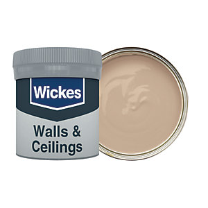 Wickes Butterscotch - No. 440 Vinyl Matt Emulsion Paint Tester Pot - 50ml
