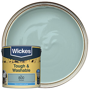 Wickes Chinoise - No. 800 Tough & Washable Matt Emulsion Paint - 2.5L