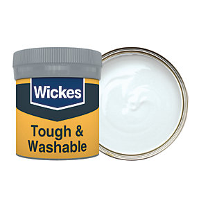Wickes Cloud - No. 150 Tough & Washable Matt Emulsion Paint Tester Pot - 50ml