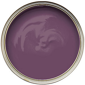 Wickes Colour @ Home Vinyl Matt Emulsion Paint - Aubergine 2.5L