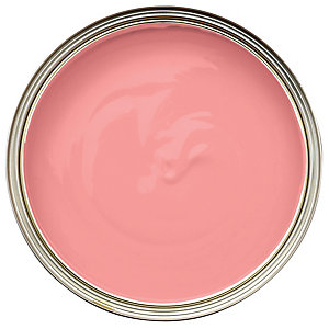Wickes Colour @ Home Vinyl Matt Emulsion Paint - Fiery Pink 2.5L
