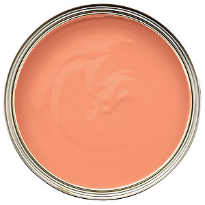 Wickes Colour @ Home Vinyl Matt Emulsion Paint - Sweet Clementine 2.5L