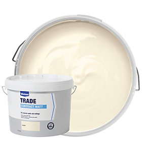 Wickes Contract Matt Emulsion Paint - Ivory 10L