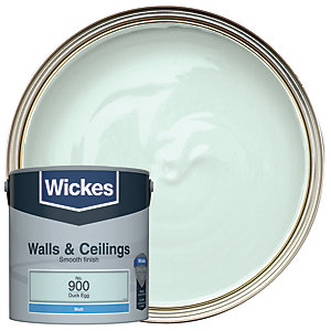 Wickes Duck Egg - No. 900 Vinyl Matt Emulsion Paint - 2.5L