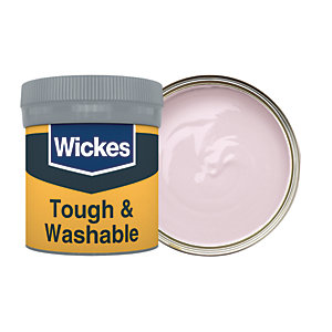 Wickes Dusky Purple - No. 700 Tough & Washable Matt Emulsion Paint Tester Pot - 50ml