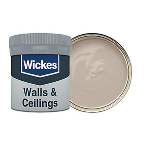 Wickes Earl Grey - No. 430 Vinyl Matt Emulsion Paint Tester Pot - 50ml