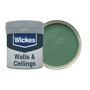 Wickes Estate Green - No. 840 Vinyl Matt Emulsion Paint Tester Pot - 50ml