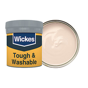 Wickes Fawn - No. 415 Tough & Washable Matt Emulsion Paint Tester Pot - 50ml