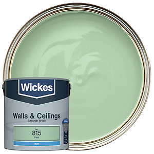 Wickes Fern - No. 815 Vinyl Matt Emulsion Paint - 2.5L