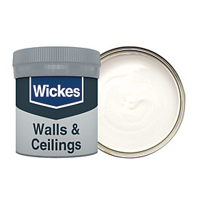 Wickes Frosted White - No. 135 Vinyl Matt Emulsion Paint Tester Pot - 50ml