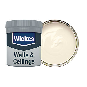 Wickes Ivory - No. 400 Vinyl Matt Emulsion Paint Tester Pot - 50ml