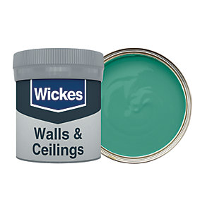 Wickes Jewel Green - No. 845 Vinyl Matt Emulsion Paint Tester Pot - 50ml