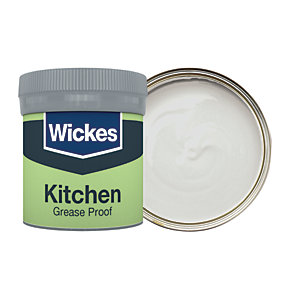 Wickes Kitchen Matt Emulsion Paint Tester Pot - No. 215 City Statement 50ml