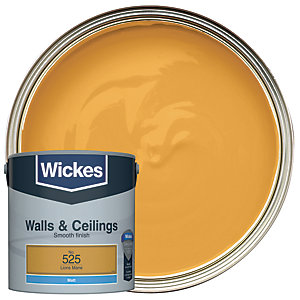 Wickes Lion's Mane - No. 525 Vinyl Matt Emulsion Paint - 2.5L