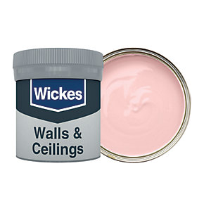 Wickes Marshmallow - No. 610 Vinyl Matt Emulsion Paint Tester Pot - 50ml