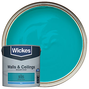 Wickes Ocean Drive - No. 935 Vinyl Matt Emulsion Paint - 2.5L